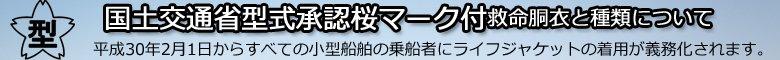 国土交通省型式承認桜マーク付き